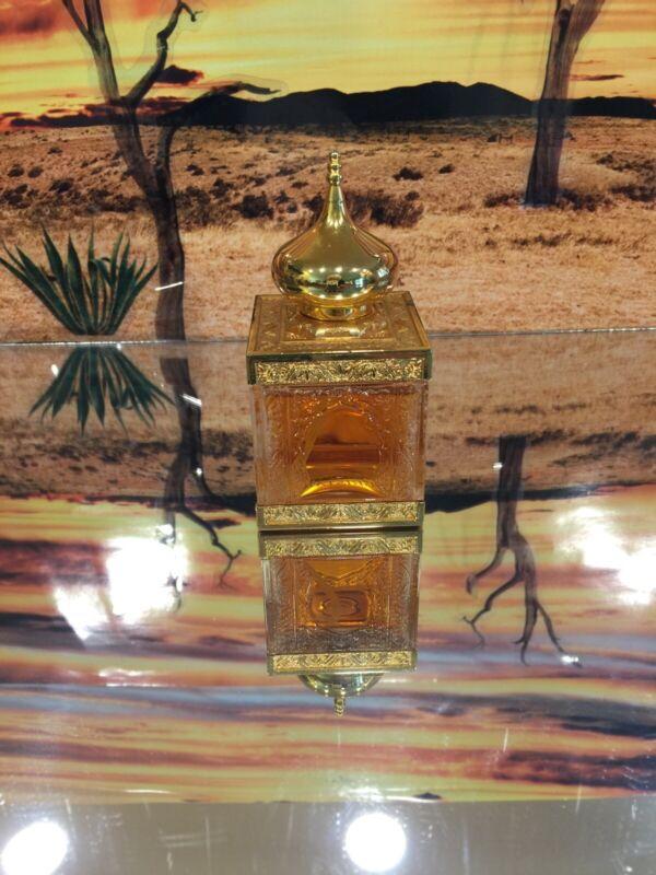 Amouage Gold Vintage Formula Perfume In Solid Cristal Bottle. Used No Box.