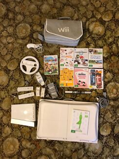 Wii bundle with games
