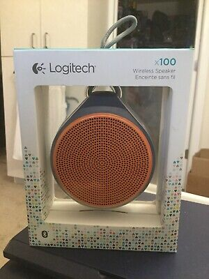 Logitech X100 Orange/ Blue Wireless Speaker segunda mano  Embacar hacia Mexico