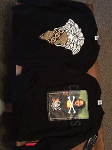 Crooks and castles crew neck sweaters