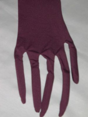 Halloween Costume Adult Long Burgundy Witch Tree Finger Gloves ](Halloween Witch Fingers)