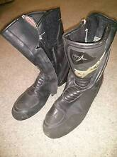 Oxtar motorcycle motorbike boots size 45 Kensington Norwood Area Preview