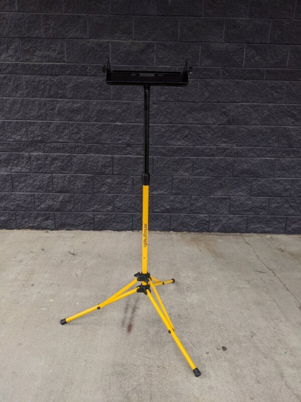 Heavy Duty Artograph Super / Prism Image Projector Yellow Floor Stand
