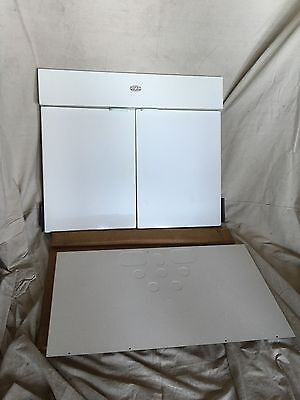 "Universal Rundle  New Old Stock 36"" White Sink Front Cabinet 1950's In Box!"