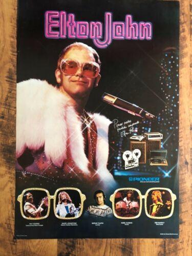 Pioneer Elton John Poster 1975