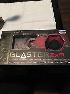 Sound Blaster ZXR sound Card