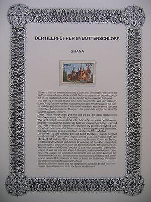 Irrtümer auf Briefmarken / Ghana 1995 Mi 2136 : Schloß Vajdahunyad in Budapest