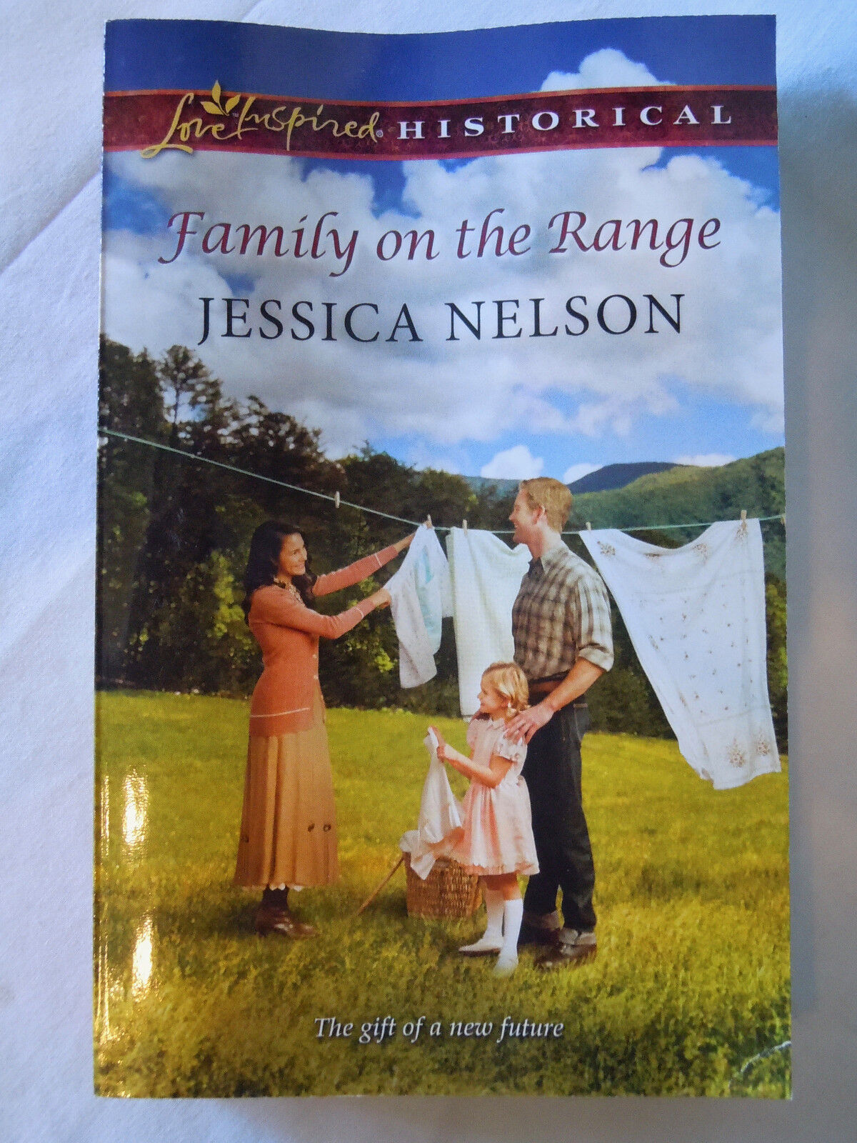 Family on the Range by Jessica Nelson  Like NEW