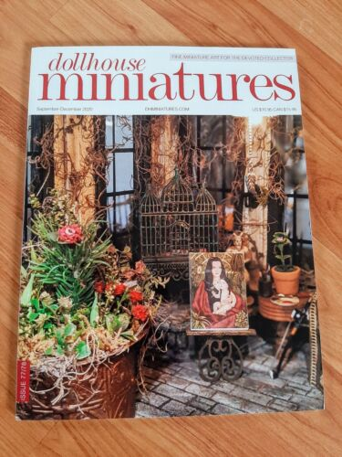 Dollhouse Miniatures Magazine Issue 77/78 Sept-Dec 2020 **Free Shipping**