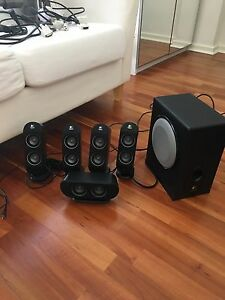 Logitech 5.1 surround speakers Churchlands Stirling Area Preview
