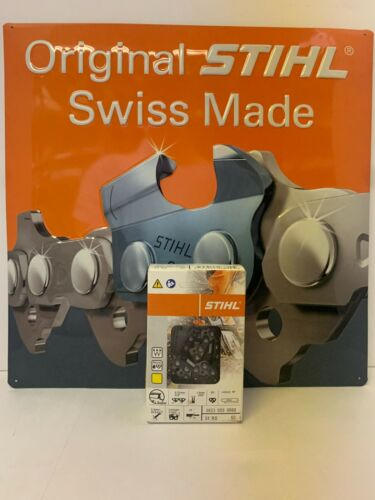 """NEW OEM STIHL 33RS60 CHAIN 3/8"""" pitch .050 gauge 60 link"""