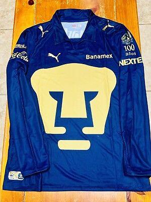 6c0759544fe4e PUMAS UNAM SOCCER JERSEY PUMA 100 AÑOS DE LA UNIVERSIDAD EDITION JERSEY 2010