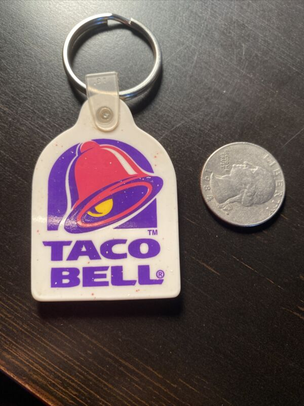 Taco Bell Live Mas Hat Tie Shirt Lapel Pin Mild Fire Hot Sauce Rare Keychain