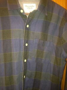 Abercrombie & F.  Shirt   New  - Size M