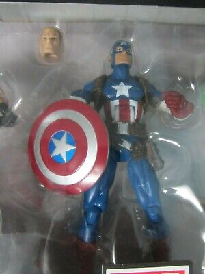 MARVEL LEGENDS TARGET EXCLUSIVE 3 PACK LOOSE CAPTAIN AMERICA