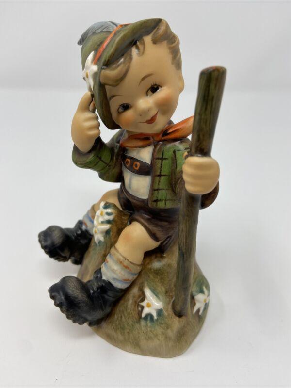 """Goebel Hummel """"Mountaineer"""" Porcelain Figurine 1955 Mold # 315 5.5"""" TMK-5"""