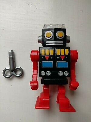 Walking ROBOT Pencil Sharpener KIKKERLAND Mechanical Wind-up 4-inch school toy