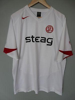 Vtg Rot Weiss Essen Nike 2004 Home Football Shirt Trikot Jersey Sz XL (176) image