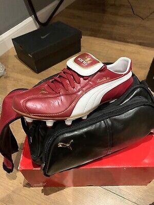 Puma King Eusebio 68 Limited Edition With Bag Uk10 Rare Football Boots