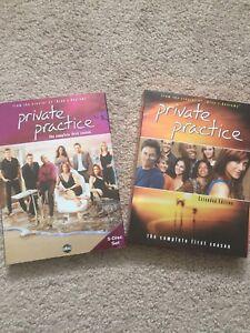 Private Practice seasons 1&3 DVD