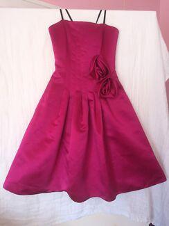 BNWT Mr K. Fuschia Satin Dress Size 6