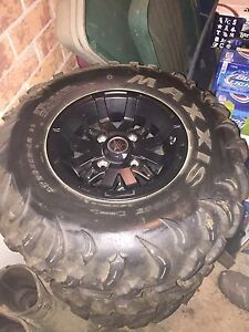 Maxxis tires with 2016 Yamaha Grizzly Rims