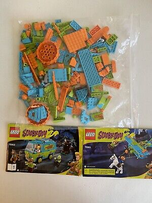 LEGO Scooby-Doo Lot Mystery Plane + Van 75901 75902 Incomplete + Instructions