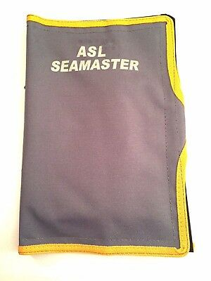 ASL Sea Master 14 Pocket Sea Fishing Rig Wallet / Hook holder Bag Grey