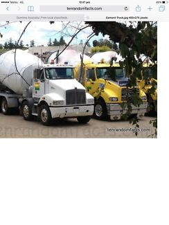 WANTED CONCRETE TRUCK BUSINESS FOR SALE Kilmore Mitchell Area Preview