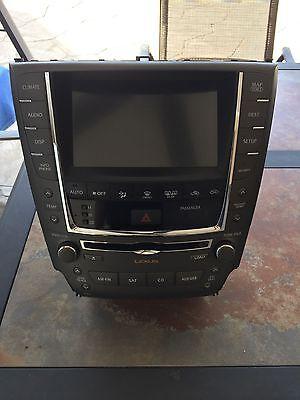 2011 12 Lexus Is250 Navigation