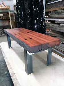 RECYCLED SLEEPER COFFEE TABLE Surry Hills Inner Sydney Preview