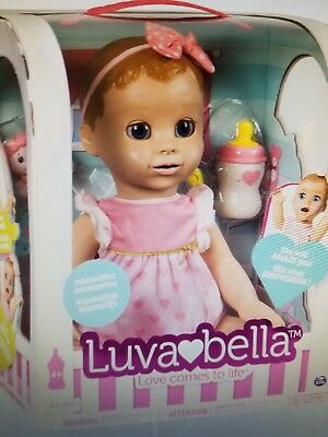 Luvabella Blonde Hair Responsive Baby Doll With Realistic Expressions  Movement