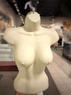 Only Hangers Female Hanging Form Big Bust- Ivory
