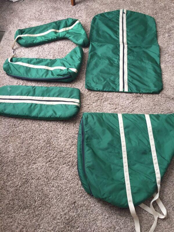 English Saddle Bag Set