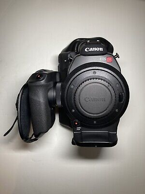 Canon EOS C300 EF, DPAF, Custom Case, 2 Batteries, 128gb CF, Only 167 Hrs *Mint*