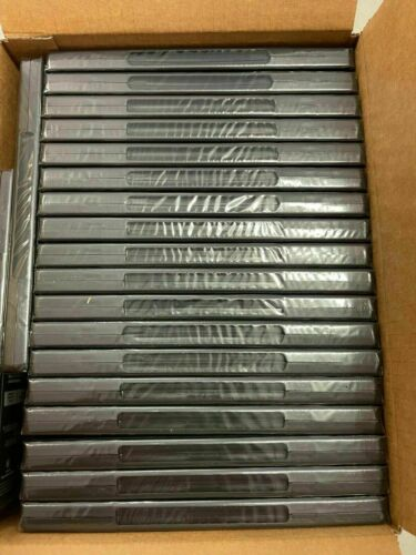 Lots of Empty Recycled Black DVD Cases PLEASE Read Description with DVDs sealed