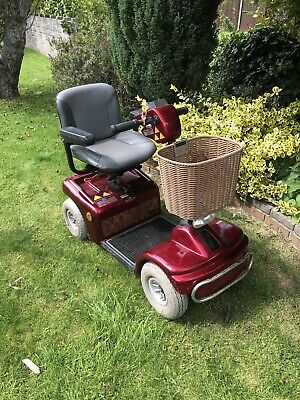 Shoprider Deluxe mobility scooter - Red