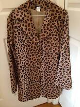 Leopard print jacket Brighton East Bayside Area Preview