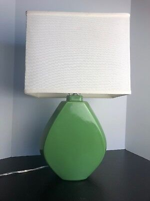 Used, Haeger Pottery Lamp Green With Original Stickers for sale  Hanover Park