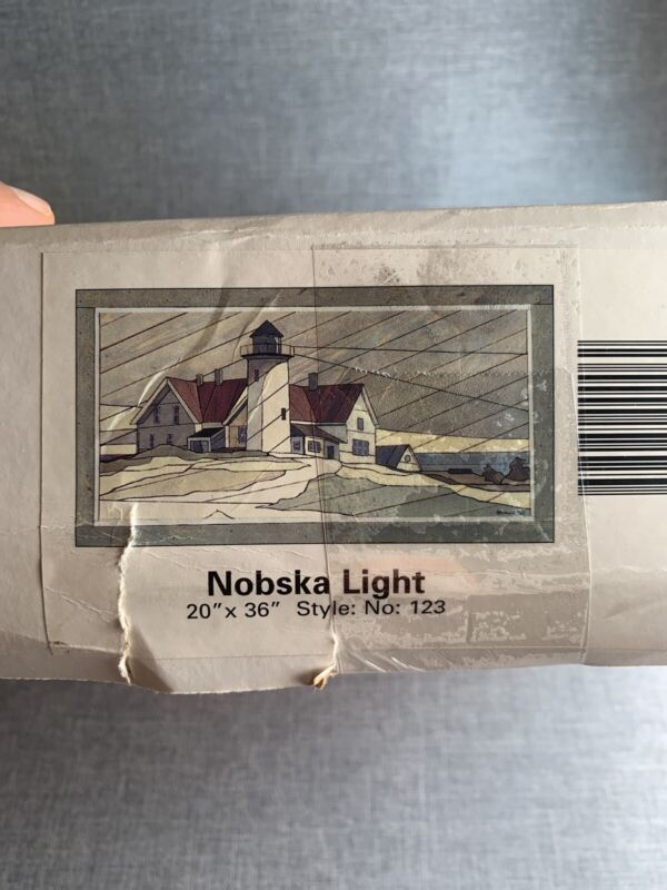 """Woodscapes Of America Collection  #123 Nobska Light 20"""" X 36"""" New In Box"""