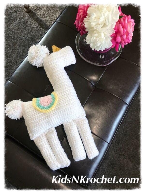 Llama, Llama-corn, Uni-llama, Plush Handmade alpaca Home Decor US 🇺🇸 SELLER