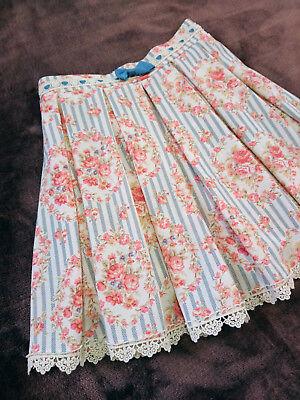 LIZ LISA Skirt shorts Japan-M Romantic Floral wreath&Stripe Hime&Lolita fashion