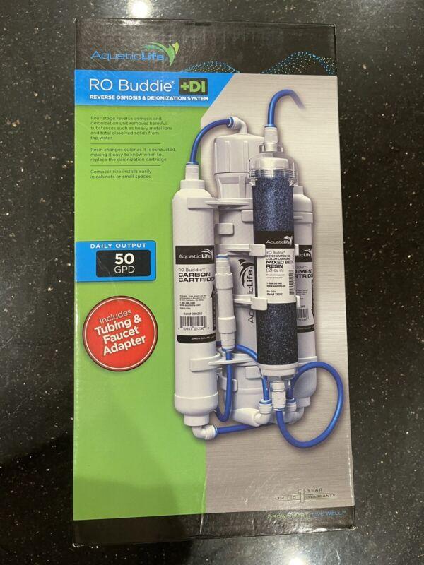 AquaticLife RO Buddie +DI Reverse Osmosis & Deionization System