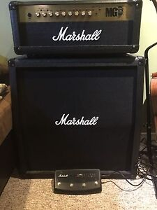 Marshall mg100 fx w/foot switch