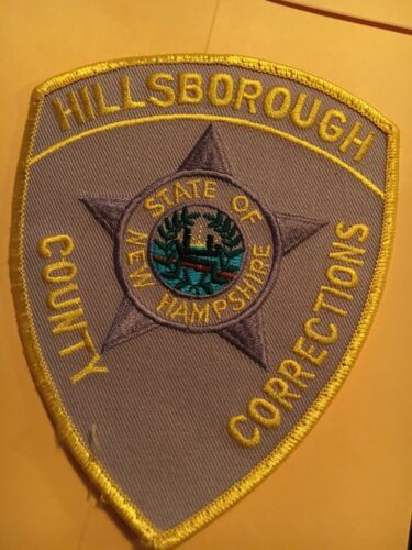 Hillsborough County Sheriff New Hampshire Vintage Police Patch corrections