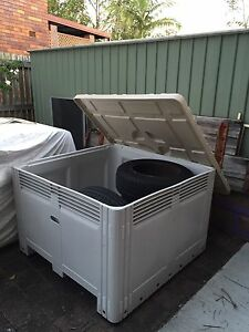 Bin, Mega Bin,  crates, containers vented from Rocklea Brisbane South West Preview