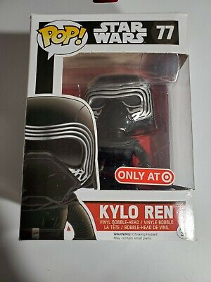 Funko Pop Disney Star Wars Target Exclusive Kylo Ren #77