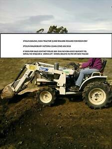 Iseki/ Bolens tractor STOLEN STOLEN $1500 REWARD REWARD Kyneton Macedon Ranges Preview