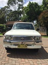 2000 Toyota hilux workmate Baulkham Hills The Hills District Preview