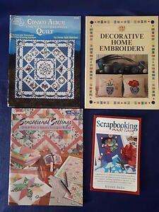Quilting & craft books Enoggera Brisbane North West Preview